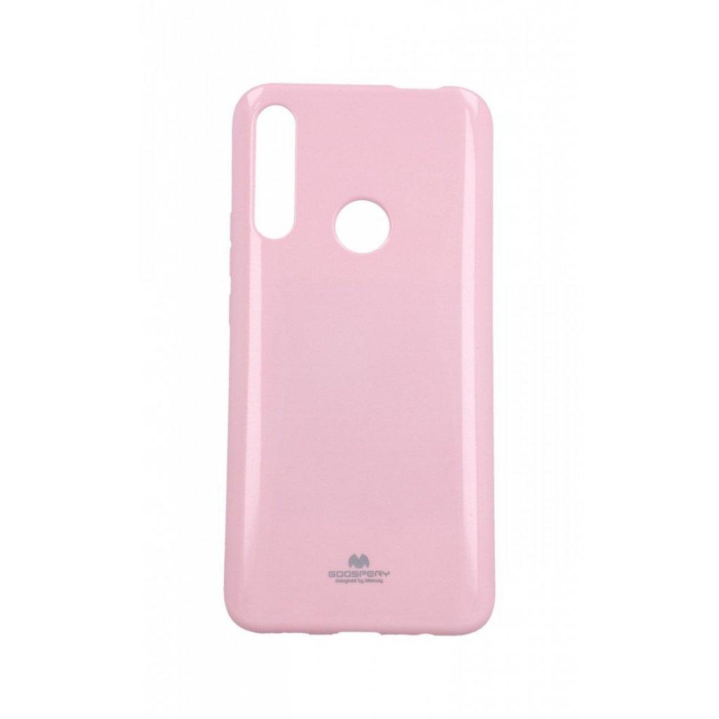 Zadný silikónový kryt Mercury Jelly Case na Huawei P Smart Z svetlo ružový