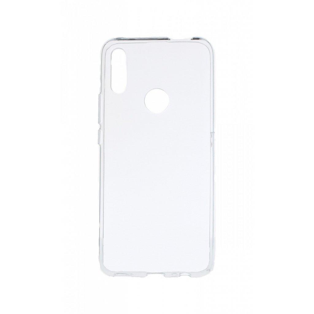 Zadný silikónový kryt na Huawei P Smart Z 1 mm priehľadný