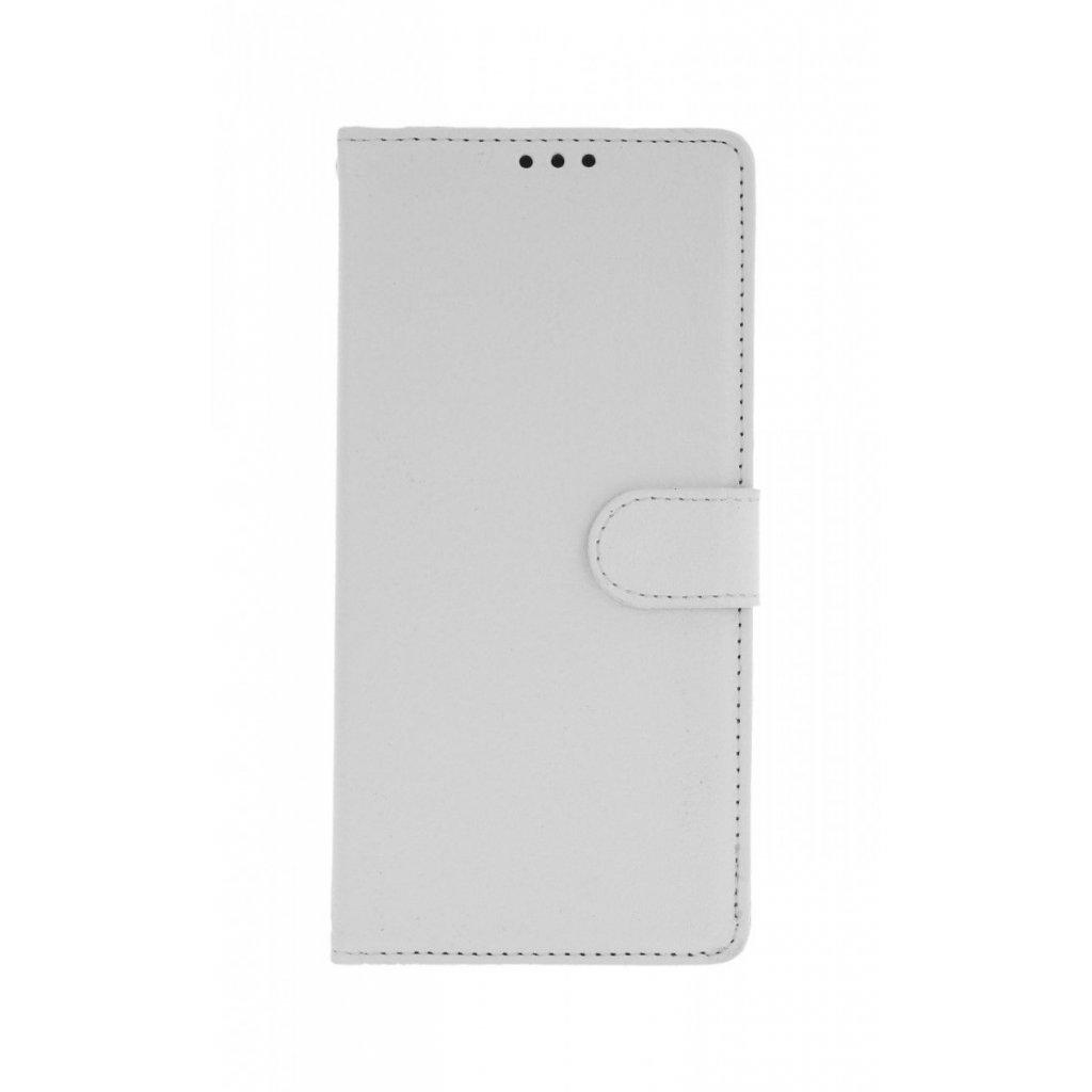 Flipové puzdro na Huawei P Smart Z biele s prackou