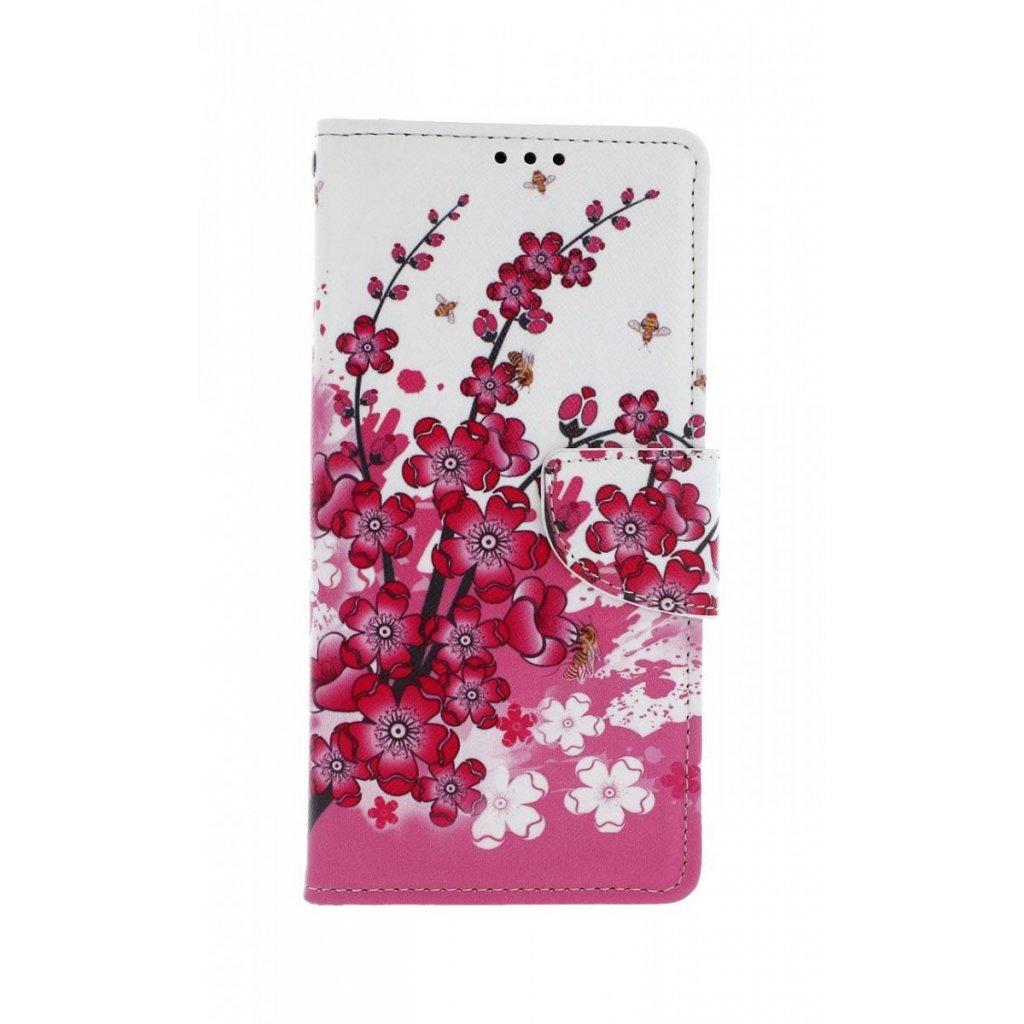 Flipové puzdro na Huawei P Smart Z Kvety textil