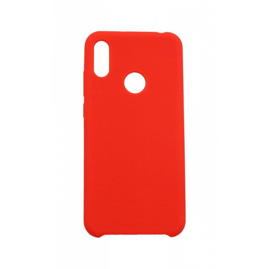 Zadný silikónový kryt Forcell Gummy na Huawei Y6 2019 červený