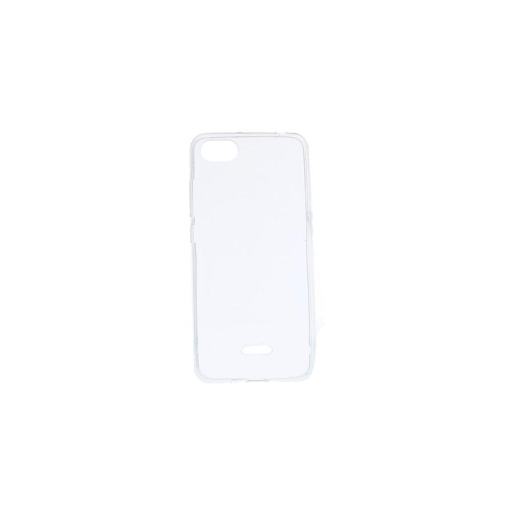 Ultratenký silikónový kryt na Xiaomi Redmi 6A 0,5 mm priehľadný