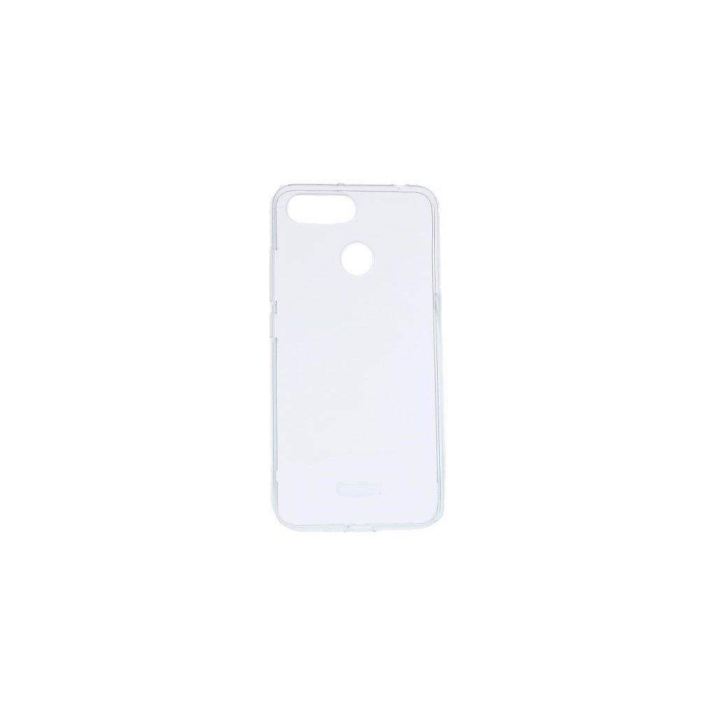 Ultratenký silikónový kryt na Xiaomi Redmi 6 0,5 mm priehľadný