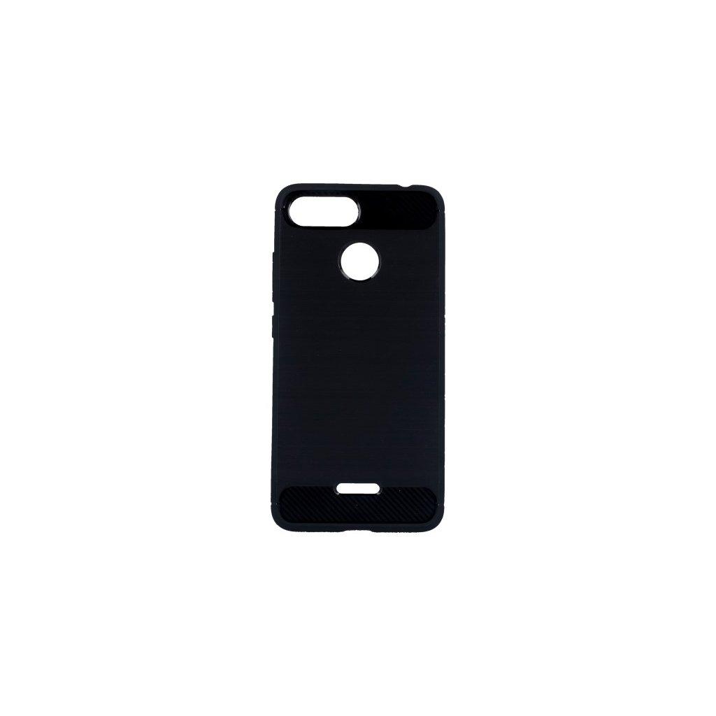 Zadný silikónový kryt na Xiaomi Redmi 6 čierny