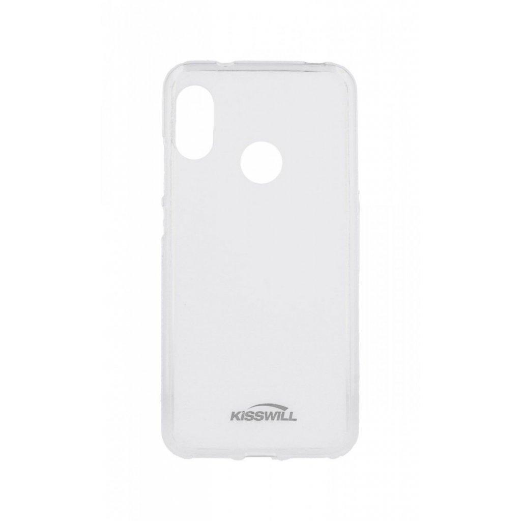 Zadný silikónový kryt Kisswill na Xiaomi Mi A2 Lite svetlý