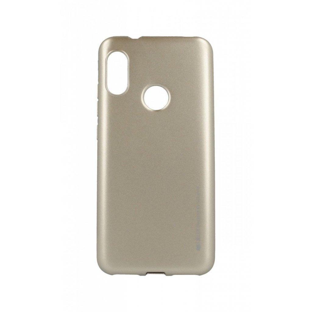 Zadný kryt Mercury iJelly Metal na Xiaomi Redmi Mi A2 Lite zlatý