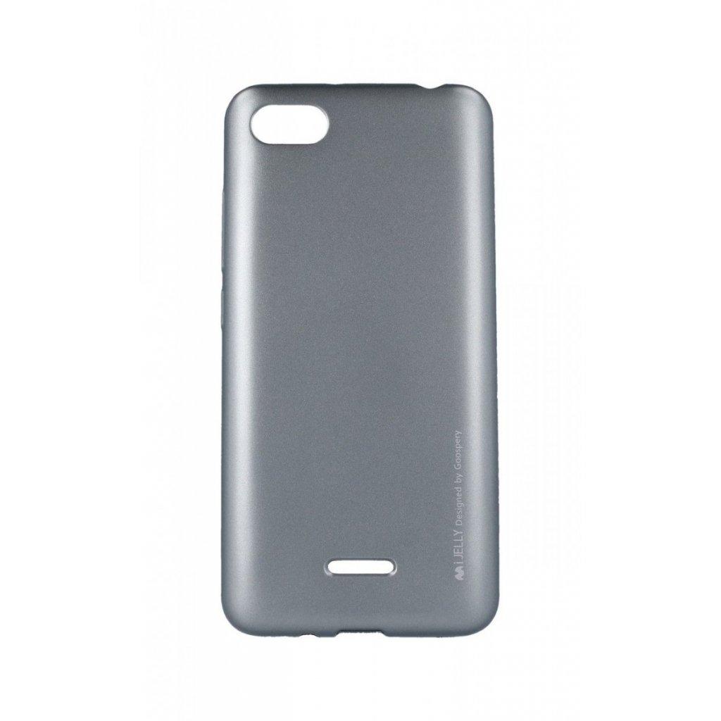 Zadný kryt Mercury iJelly Metal na Xiaomi Redmi 6A sivý