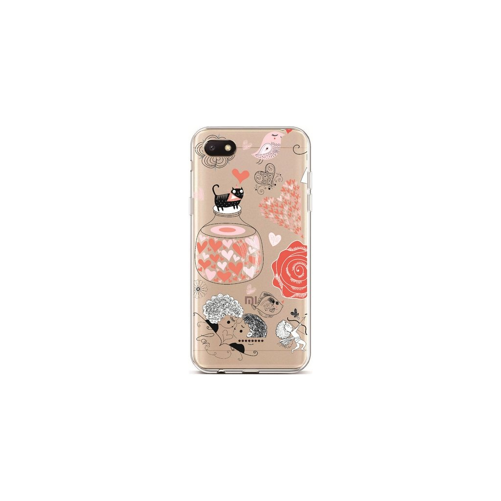 Zadný silikónový kryt na Xiaomi Redmi 6A L'amour