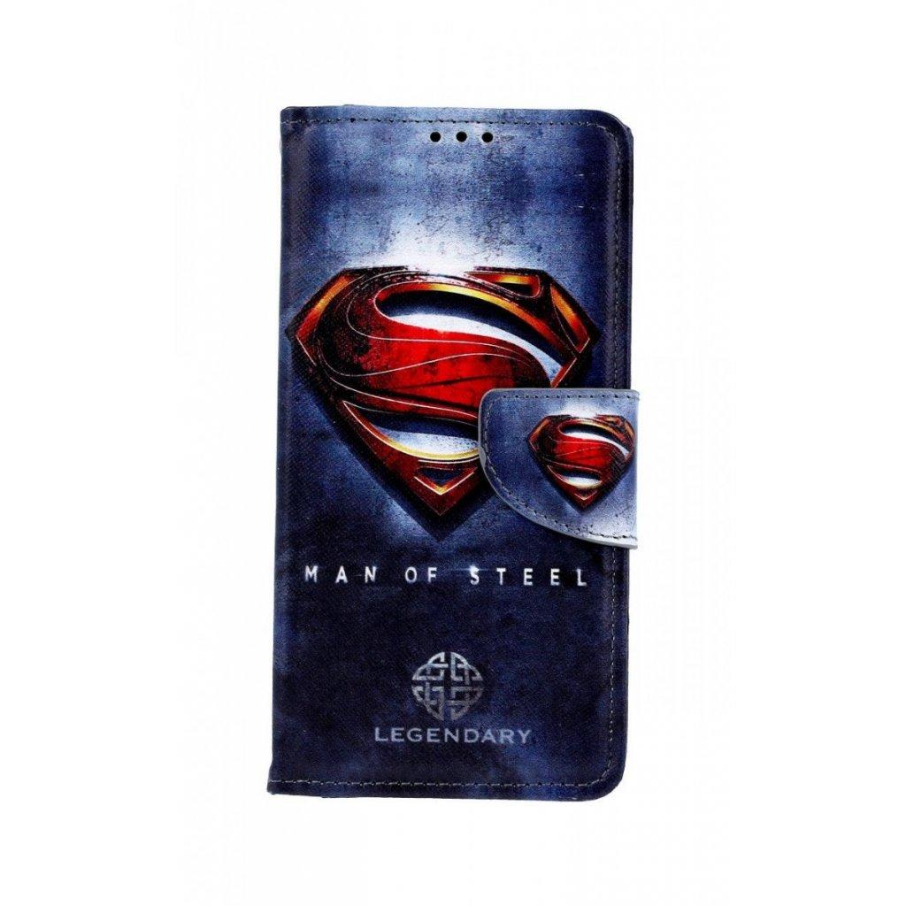 Flipové puzdro na Xiaomi Redmi 7 Superman 2