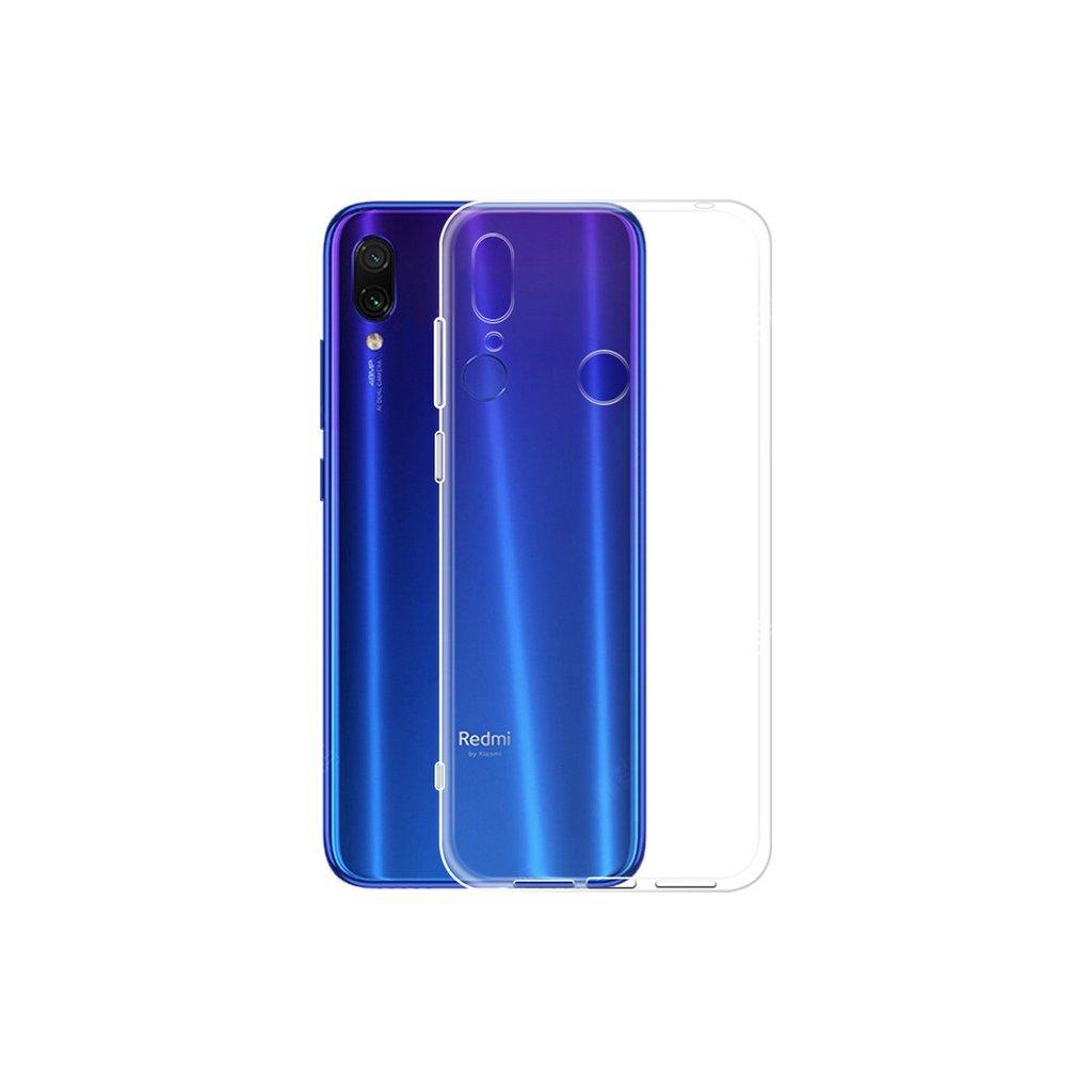 Zadný kryt Swissten Clear Jelly na Xiaomi Redmi Note 7 priehladné