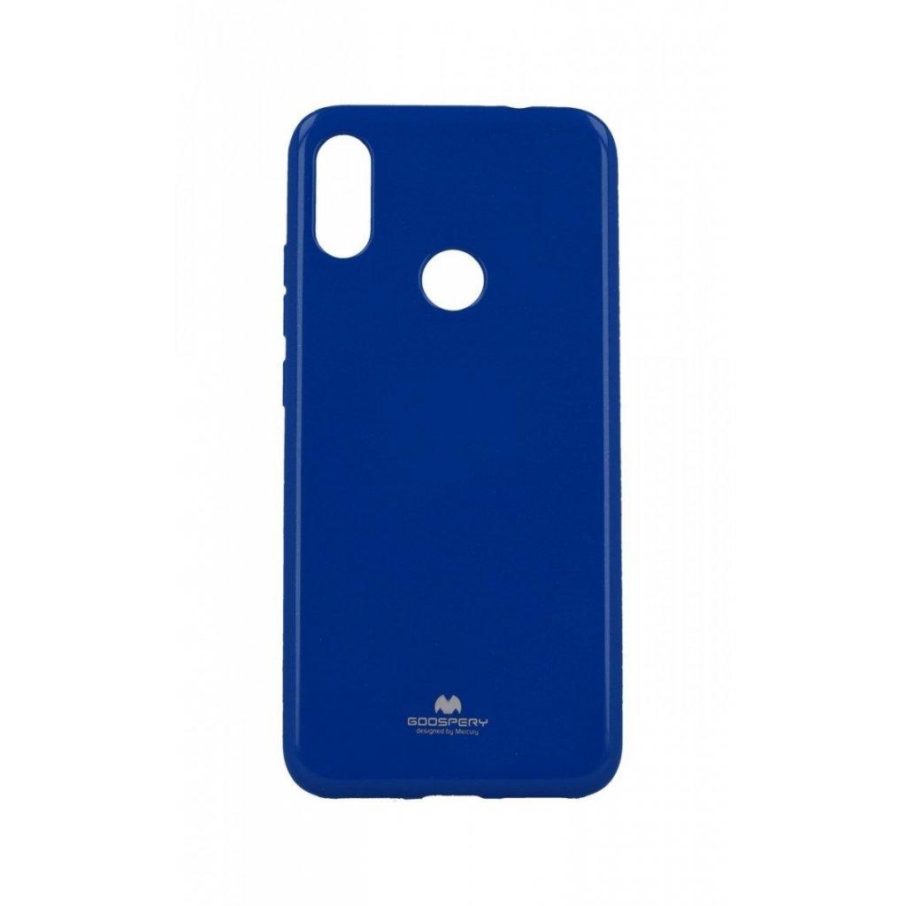 Zadný silikónový kryt Mercury Jelly Case na Xiaomi Redmi Note 7 modrý