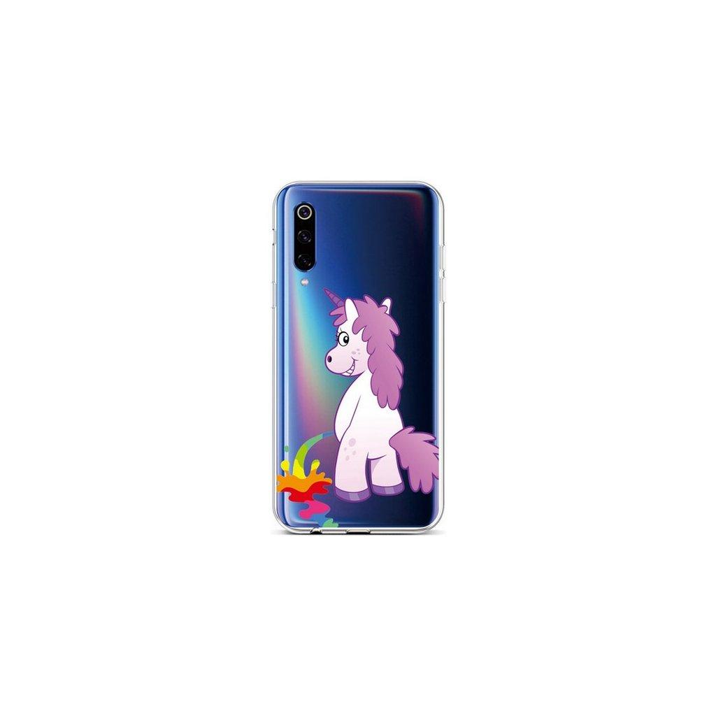 Zadný silikónový kryt na Xiaomi Mi 9 Rude Unicorn