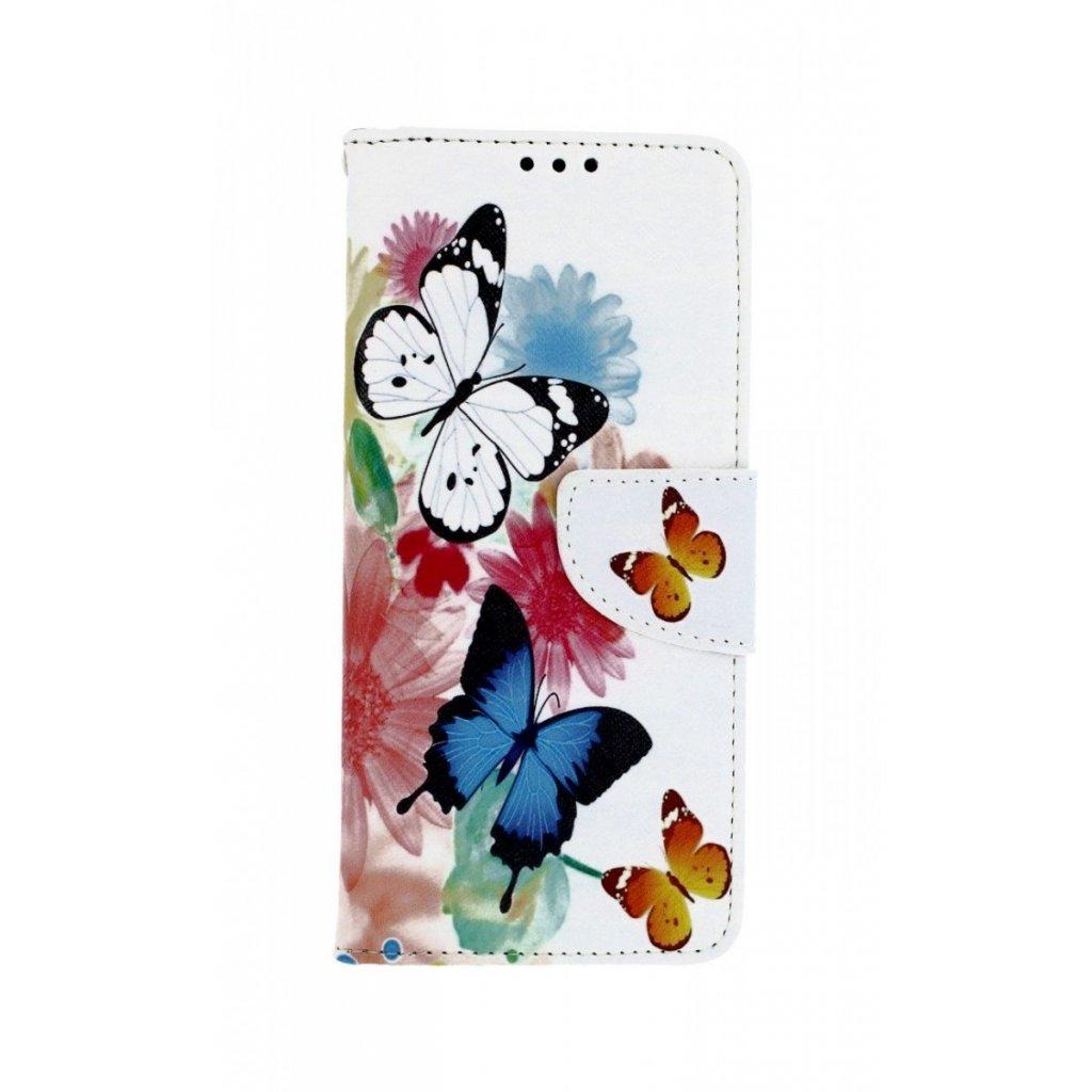 Flipové puzdro na Xiaomi Mi 9 Farebné s motýlikmi