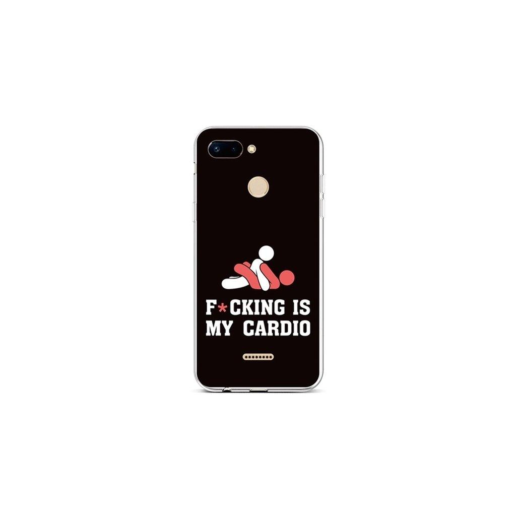 Zadný silikónový kryt na Xiaomi Redmi 6 Cardio