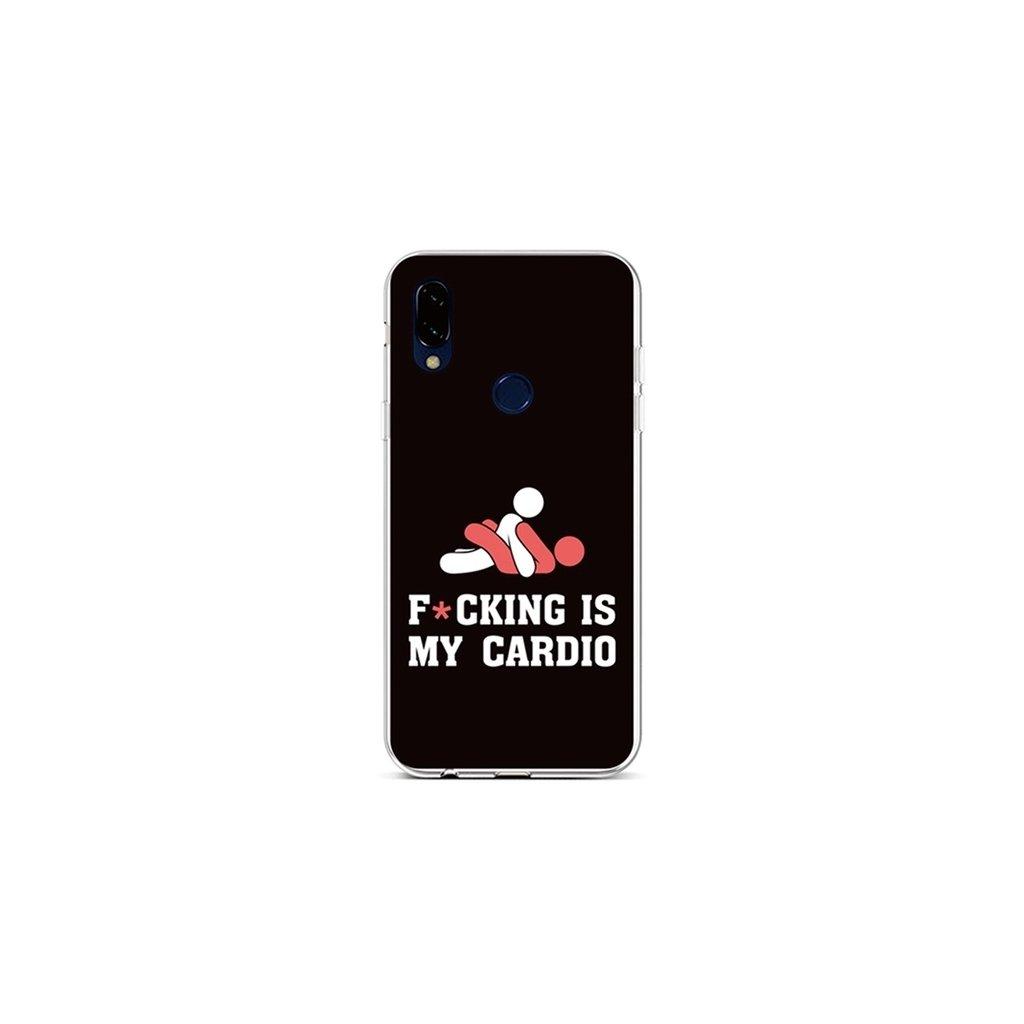 Zadný silikónový kryt na Xiaomi Redmi 7 Cardio