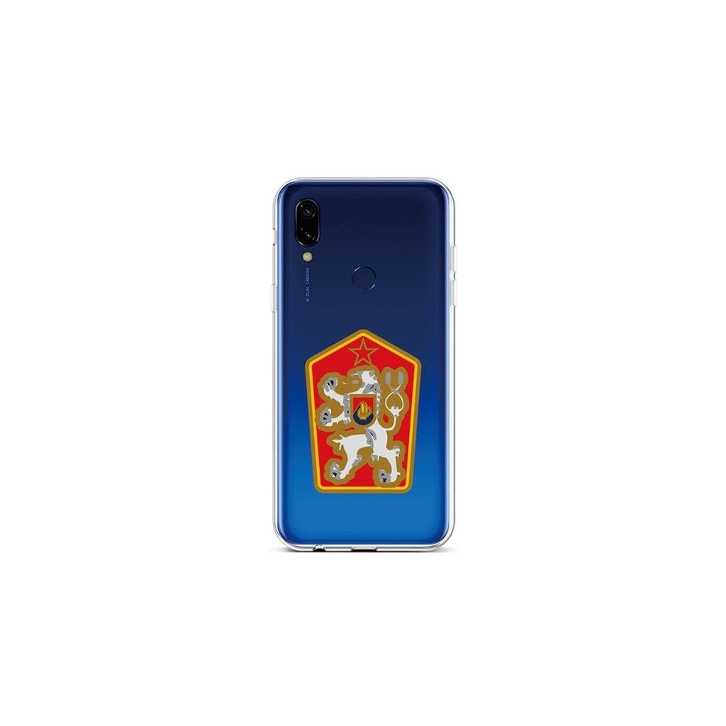 Zadný silikónový kryt na Xiaomi Redmi 7 Štátny znak