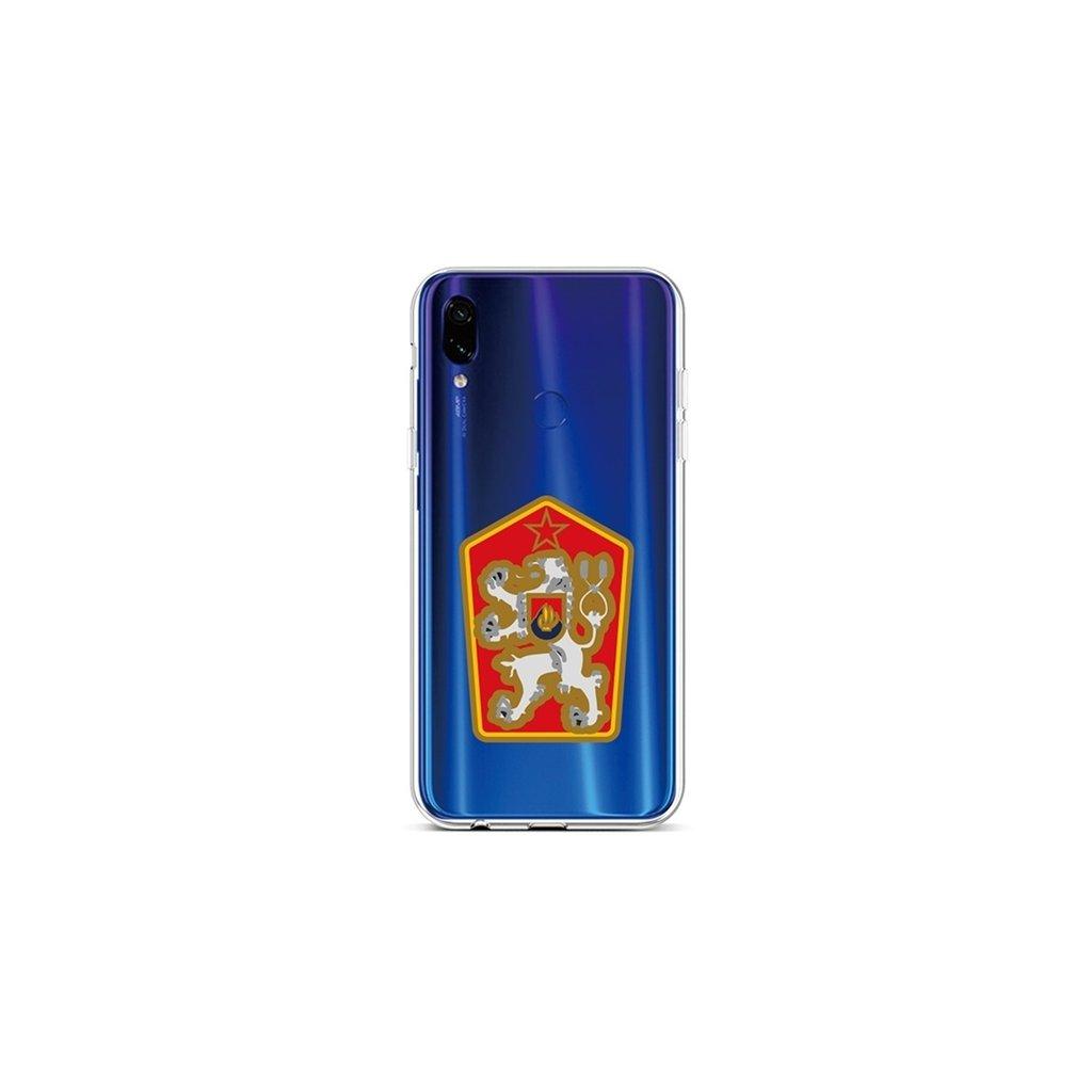 Zadný silikónový kryt na Xiaomi Redmi Note 7 Štátny znak