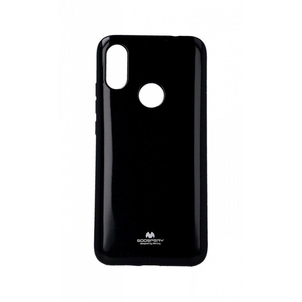 Zadný silikónový kryt Mercury Jelly Case na Xiaomi Redmi 7 čierny