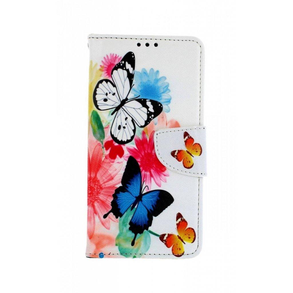 Flipové puzdro na Xiaomi Mi 9T Farebné s motýlikmi