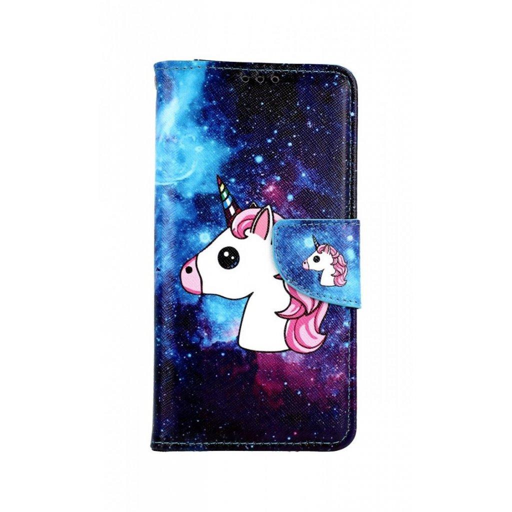 Flipové puzdro na Xiaomi Mi 9T Space Unicorn