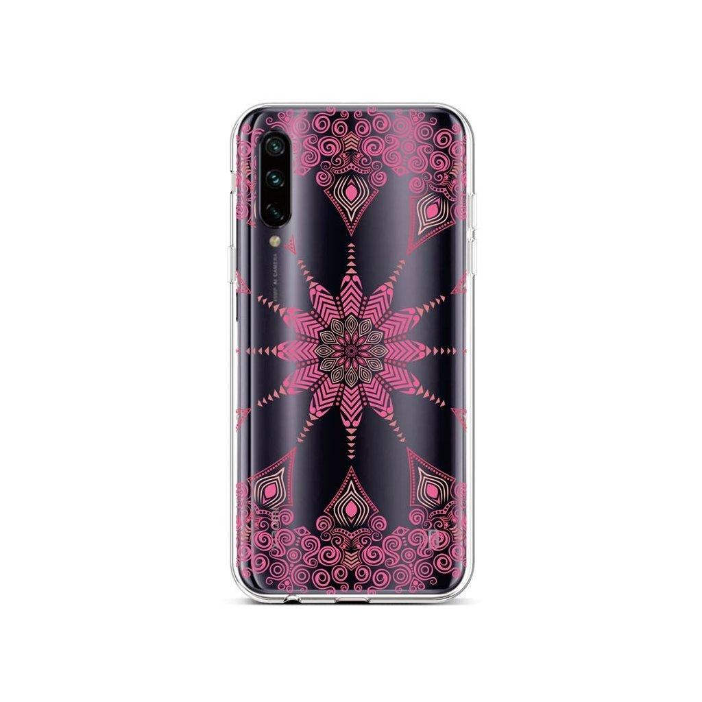 Zadný silikónový kryt na Xiaomi Mi A3 Pink Mandala