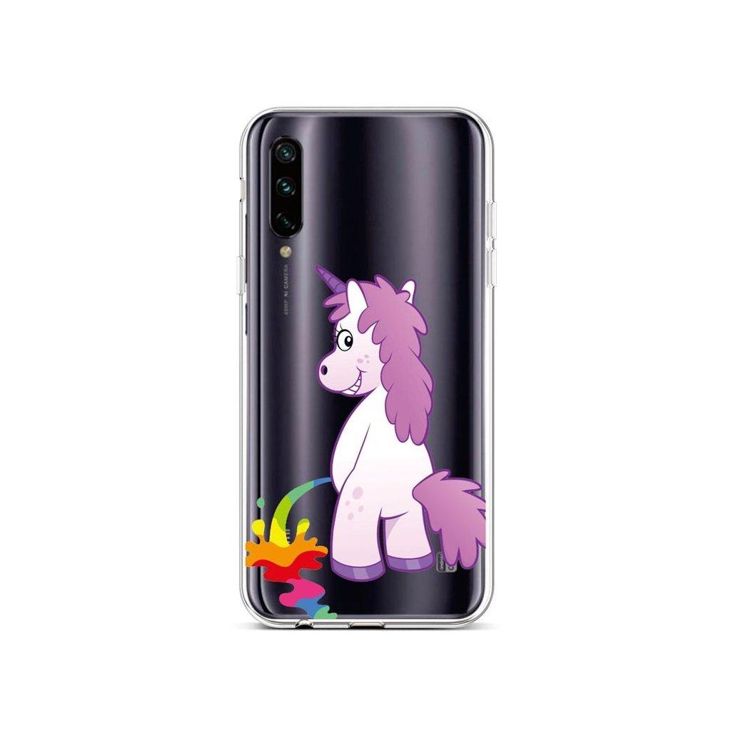 Zadný silikónový kryt na Xiaomi Mi A3 Rude Unicorn