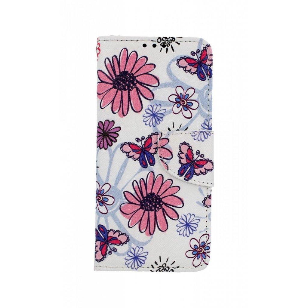 Flipové puzdro na Xiaomi Mi 9 SE Flowers