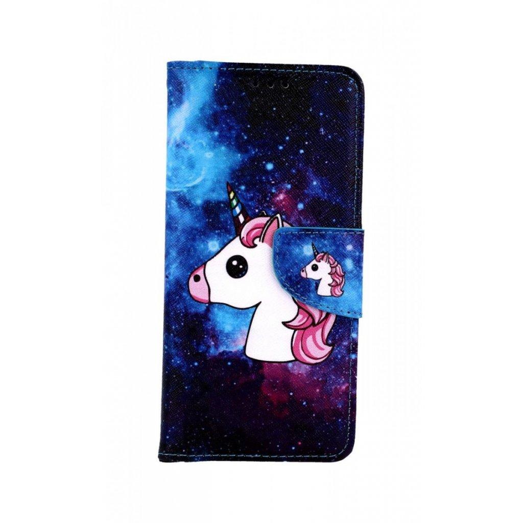 Flipové puzdro na Xiaomi Mi A2 Space Unicorn