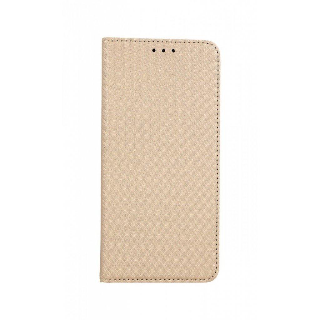 Flipové puzdro Smart Magnet na Xiaomi Redmi Note 8 Pro zlaté