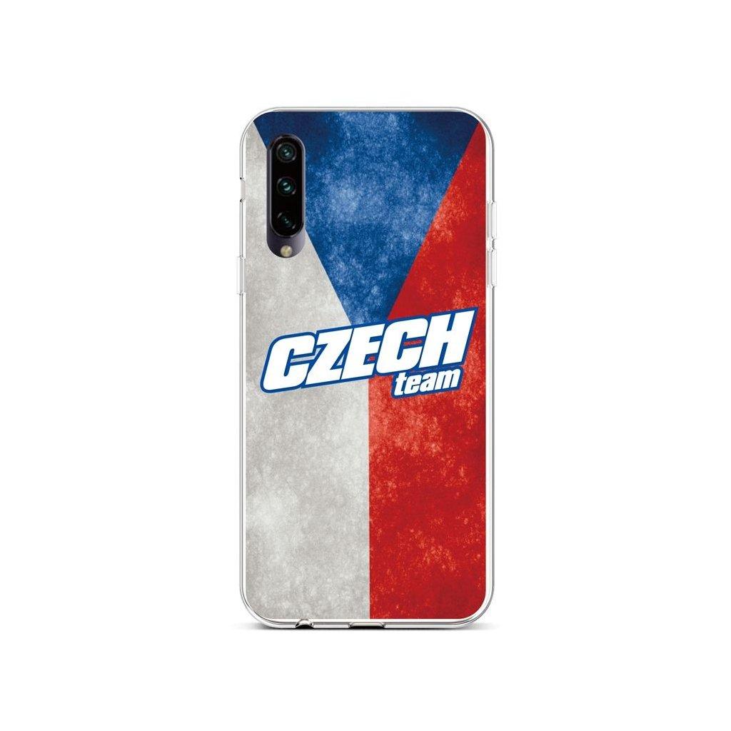 Zadný silikónový kryt na Xiaomi Mi A3 Czech Team