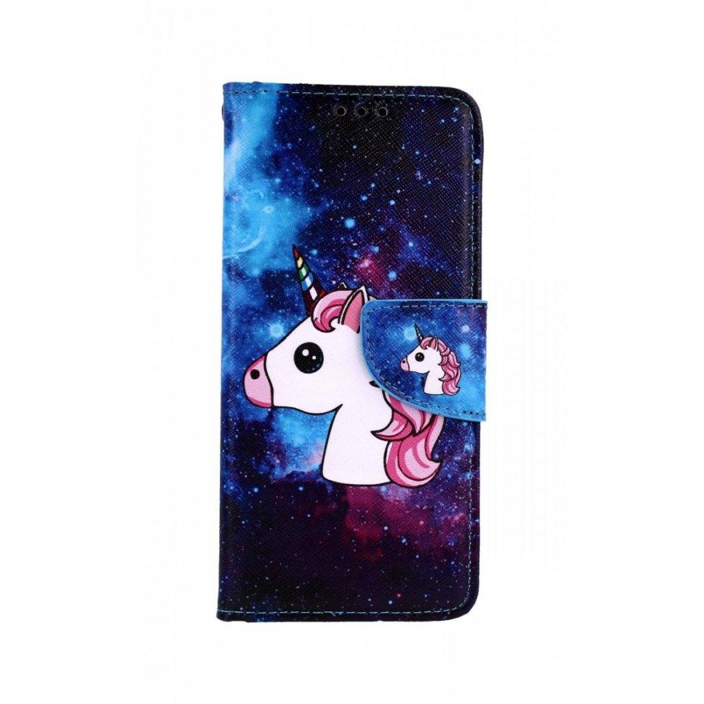 Flipové puzdro na Xiaomi Redmi Note 8 Space Unicorn