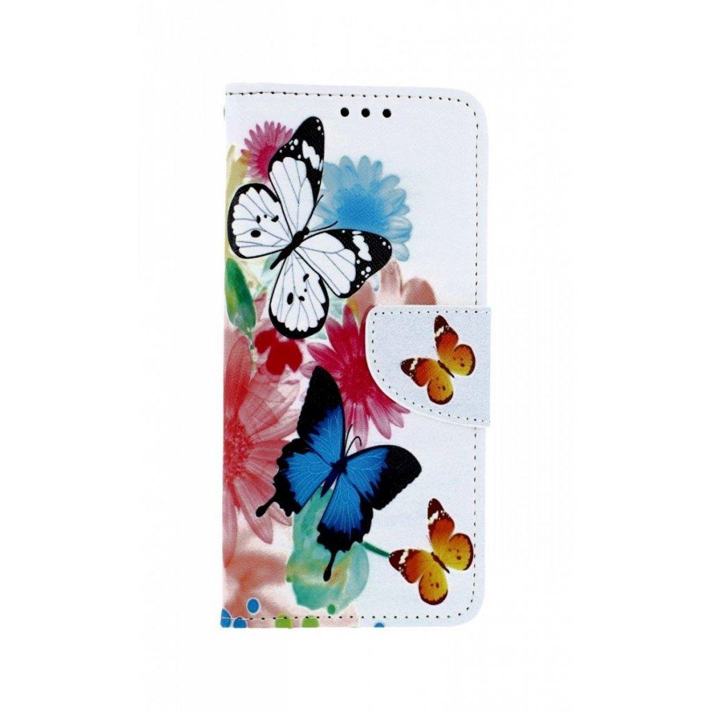 Flipové puzdro na Xiaomi Redmi Note 8 Farebné s motýlikmi