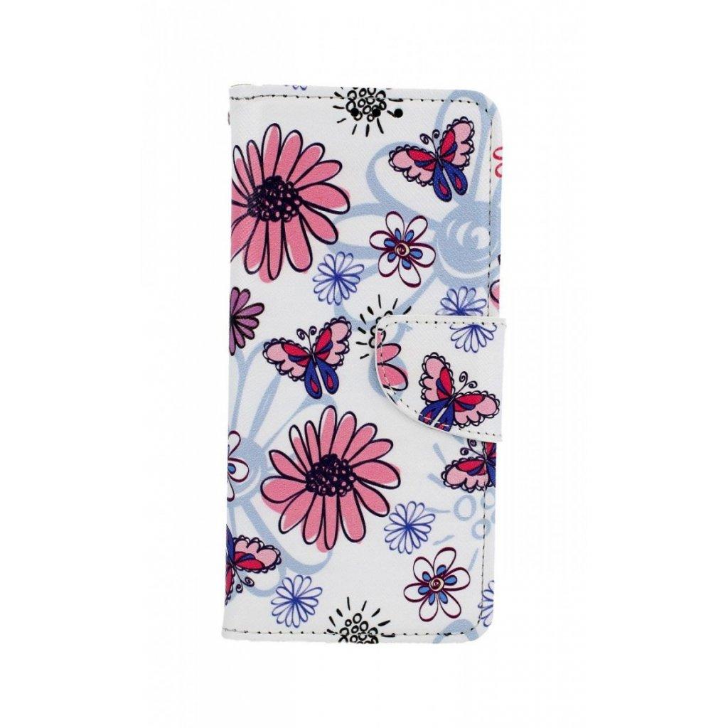 Flipové puzdro na Xiaomi Redmi Note 8 Flowers
