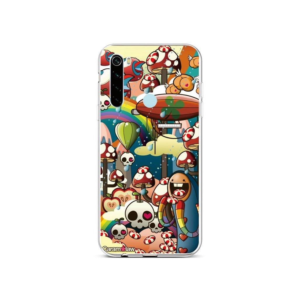 Zadný silikónový kryt na Xiaomi Redmi Note 8 Caram Law 2