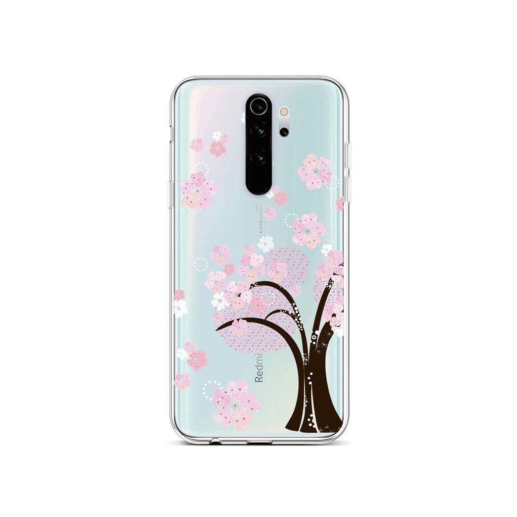 Zadný silikónový kryt na Xiaomi Redmi Note 8 Pro Cherry Tree