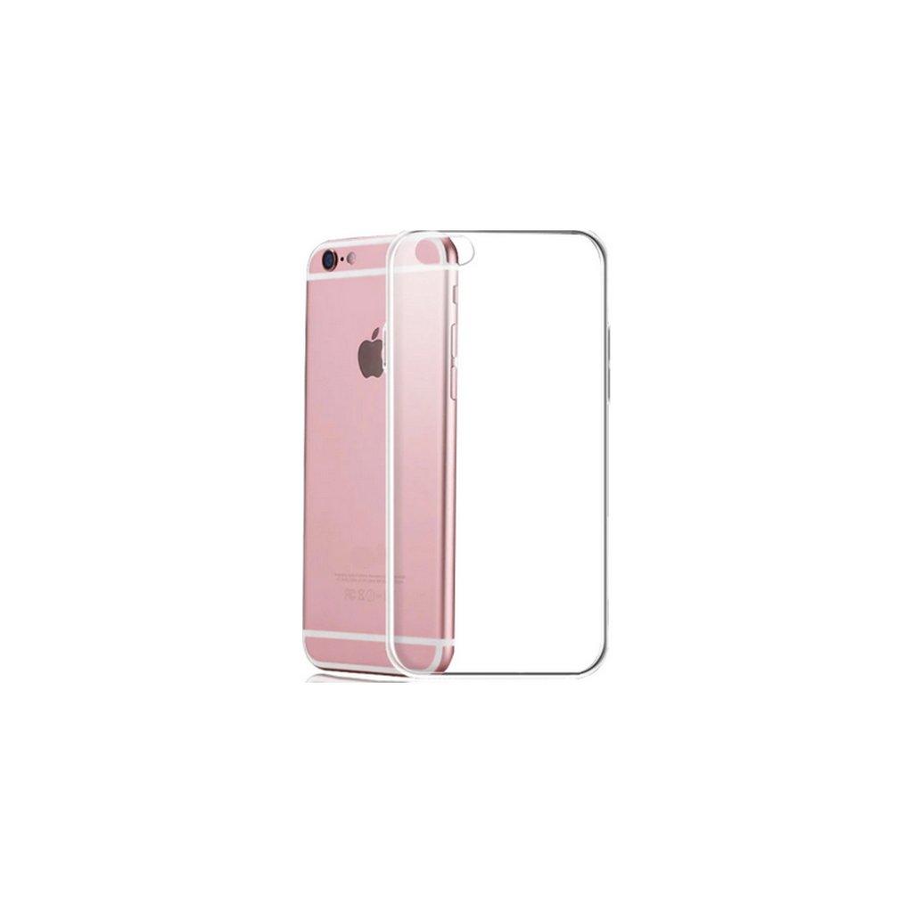 Ultratenké zadné silikónové puzdro iPhone 7 priehľadné