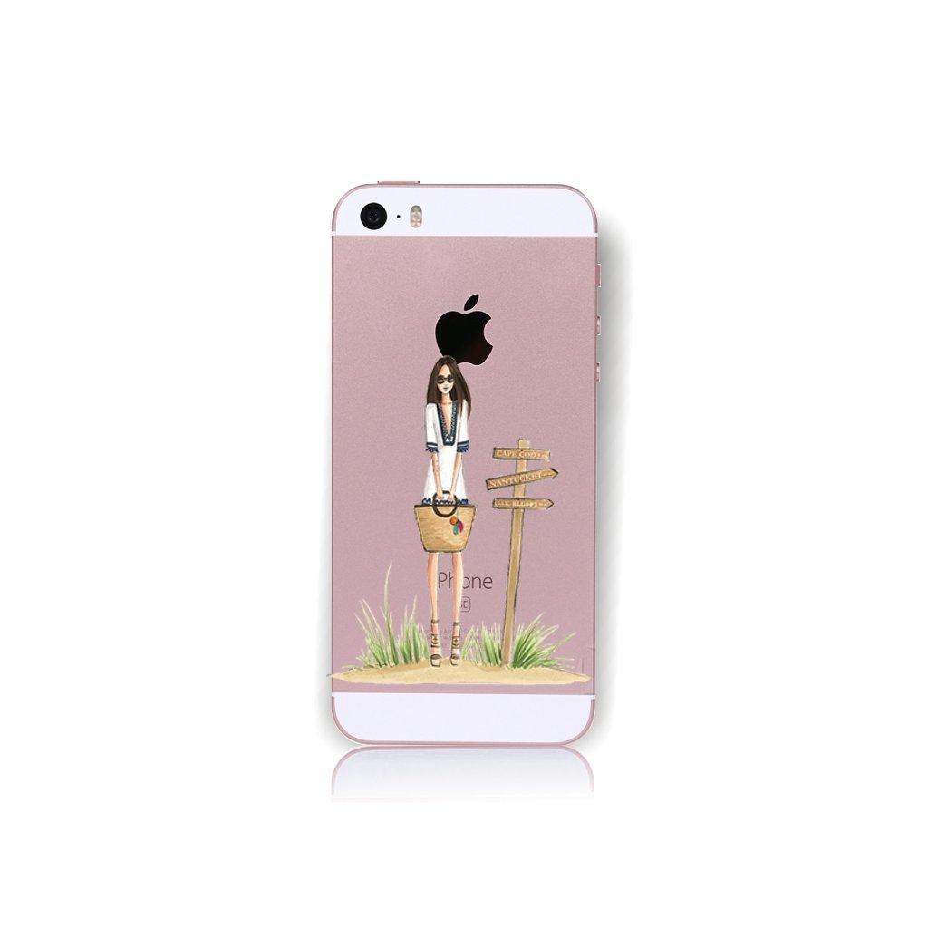Zadný kryt na iPhone 5 / 5s / SE Lady 1