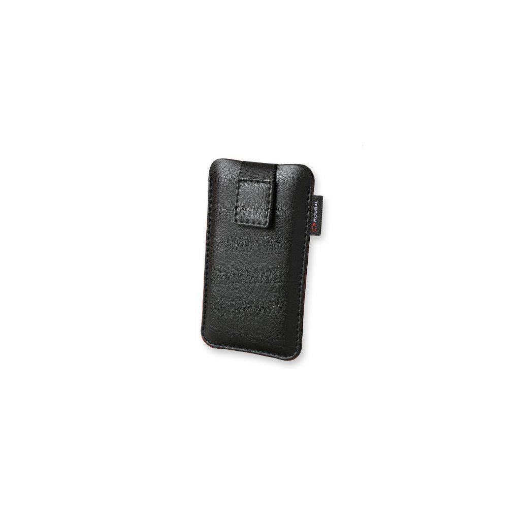Puzdro Roubal na iPhone X čierne