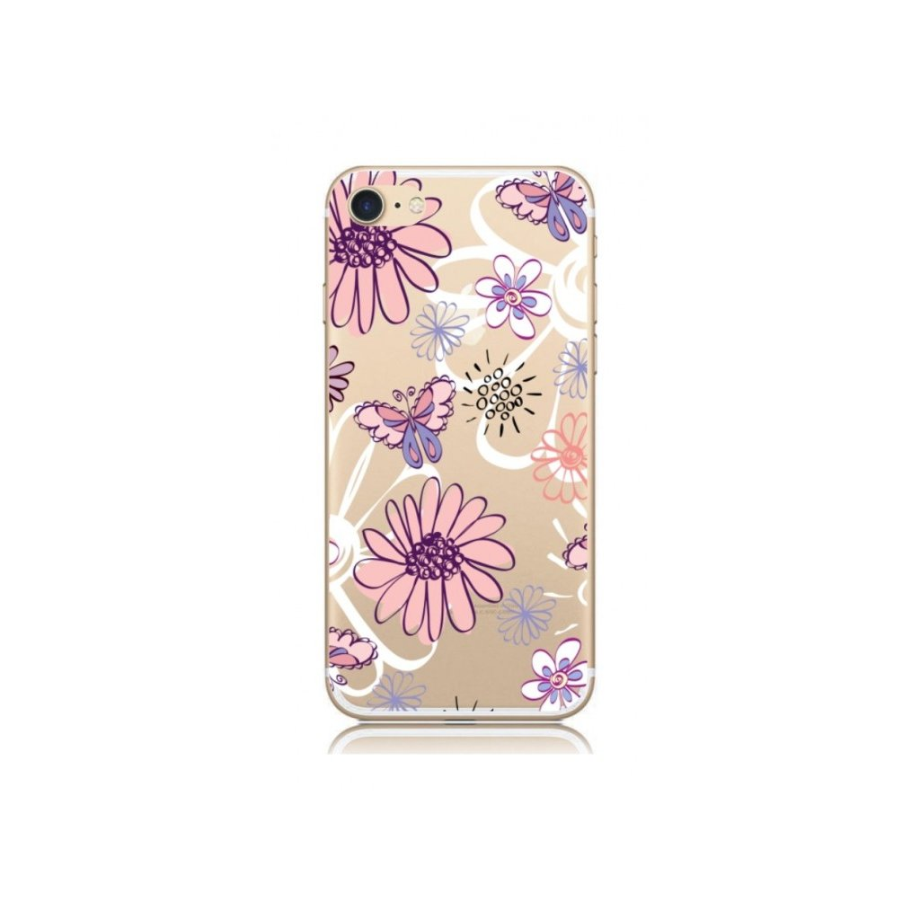 Zadný kryt na iPhone 7 Flowers