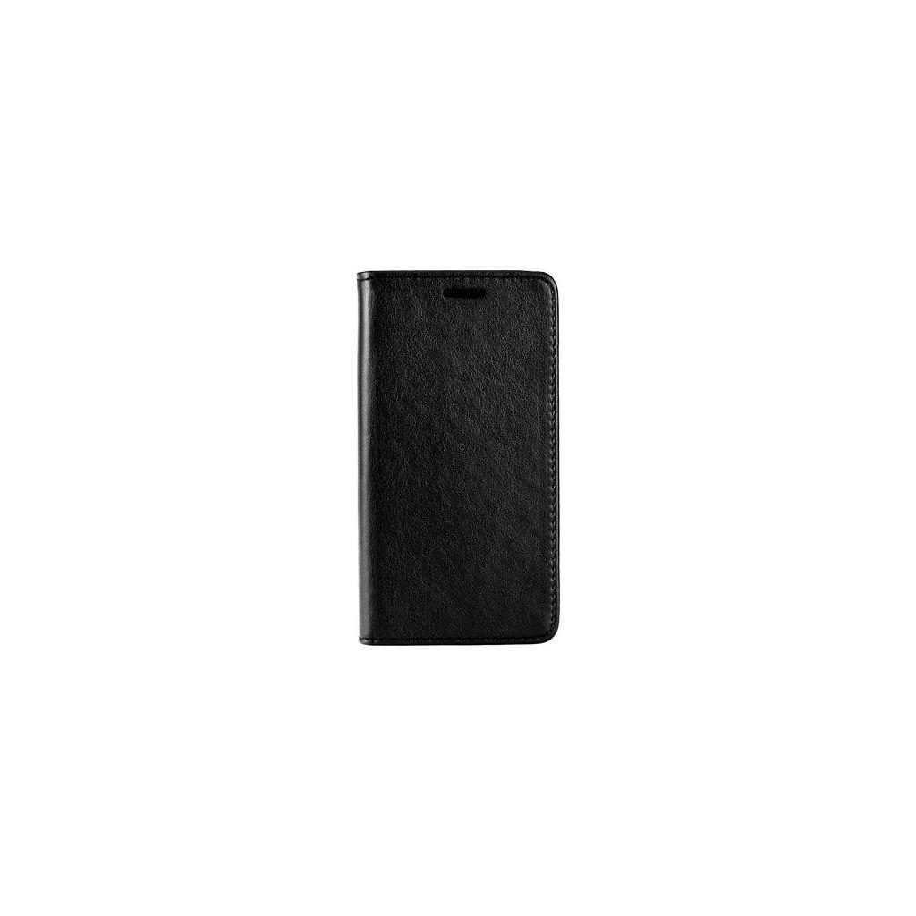 Flipové puzdro Magnet Book na iPhone X čierne