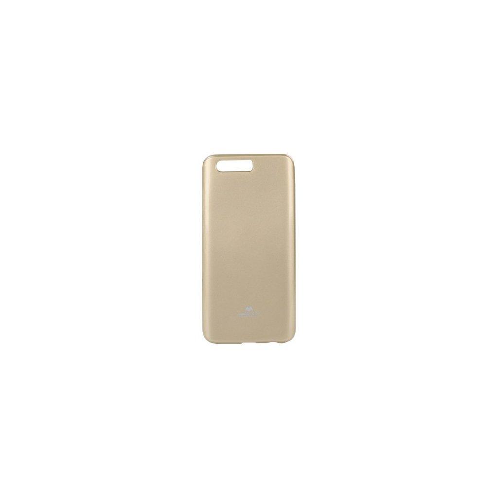 Zadný silikónový kryt Mercury Jelly Case na Honor 9 zlatý