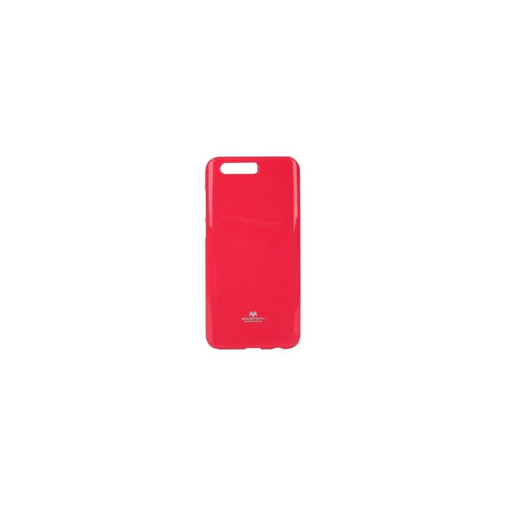 Zadný silikónový kryt Mercury Jelly Case na Honor 9 ružový