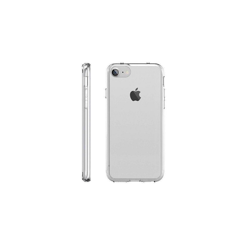 Zadný kryt Swissten Clear Jelly na iPhone 8 priehľadný