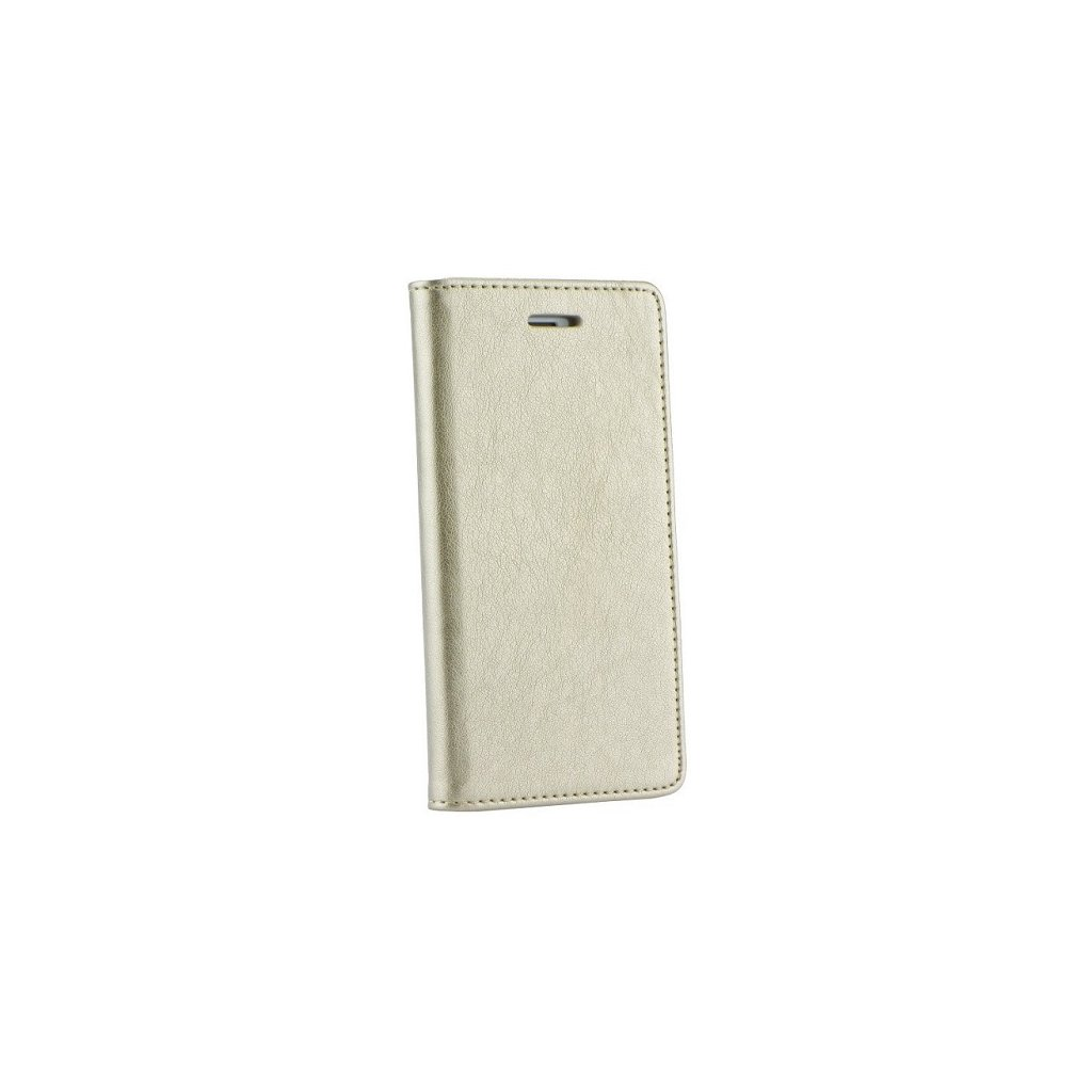 Flipové puzdro Magnet Book na iPhone 8 zlaté