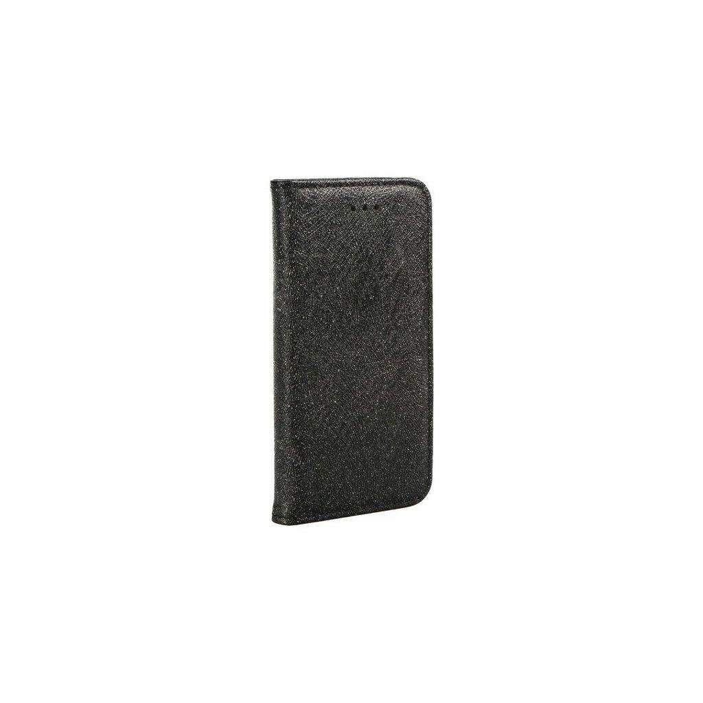 Flipové puzdro Magic Book na iPhone X čierne