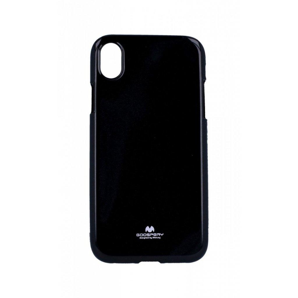 Zadný kryt Mercury Jelly Case na iPhone XR čierny