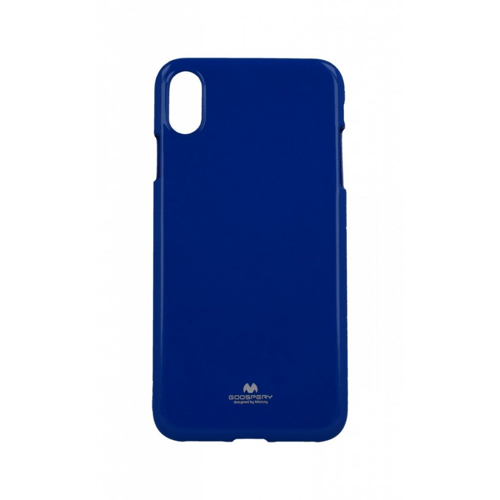 Zadný kryt Mercury Jelly Case na iPhone XS Max modrý