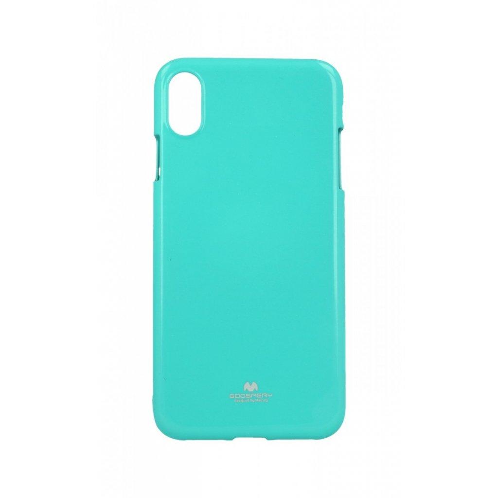 Zadný kryt Mercury Jelly Case na iPhone XS Max mentolový