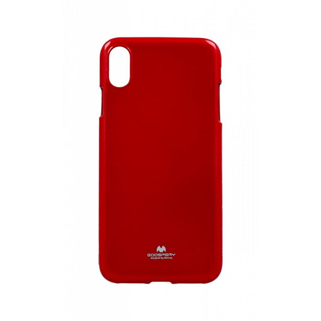 Zadný kryt Mercury Jelly Case na iPhone XS Max červený