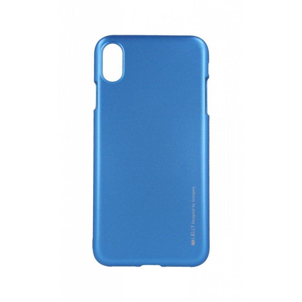 Zadný kryt Mercury iJelly Metal na iPhone XS Max modrý